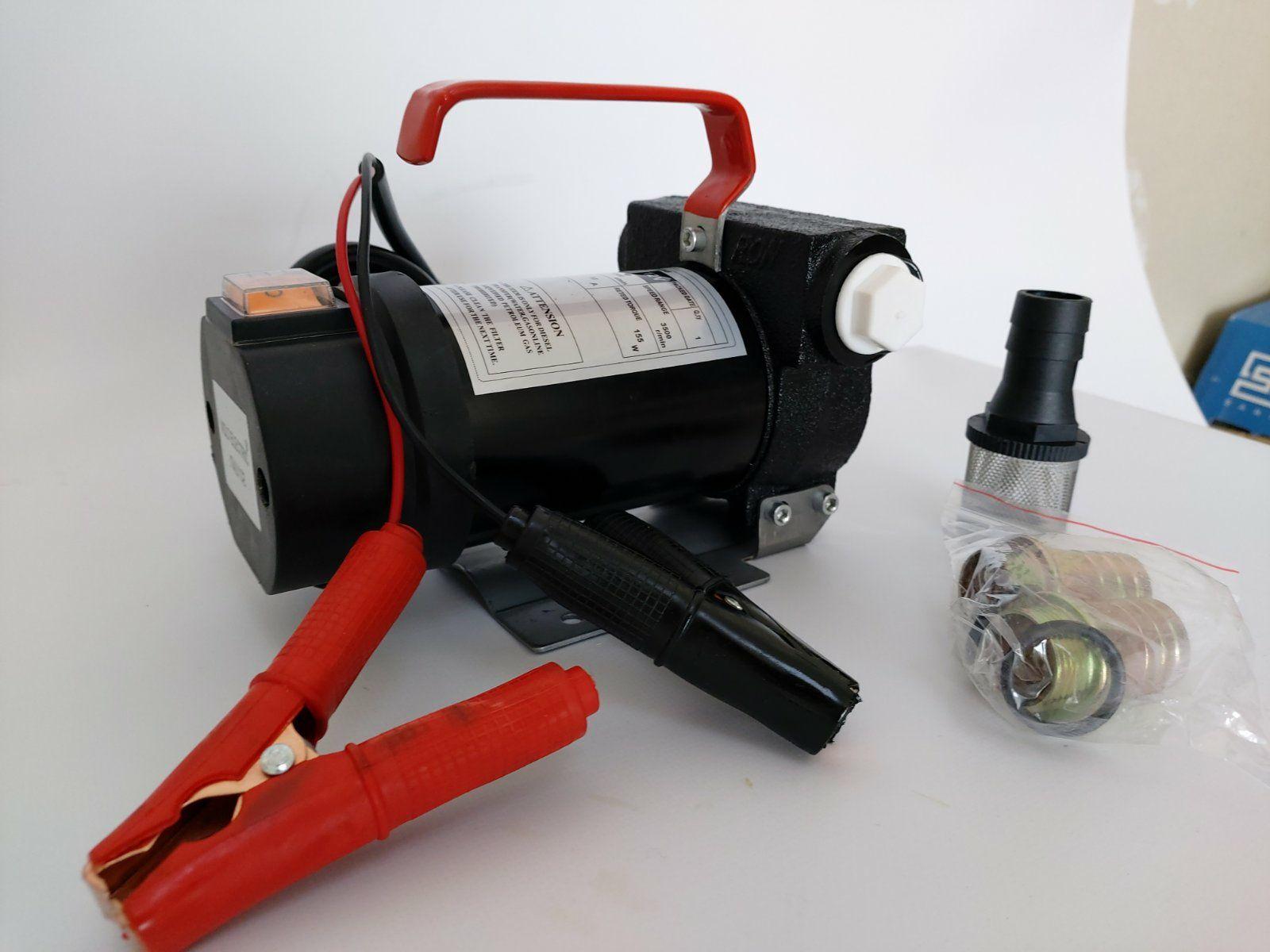 Помпа DCTP40 12V за горива и агресивни течности40 л дебит