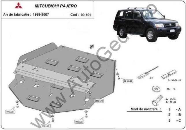 Scut cutie de viteză Mitsubishi Pajero 3 (V60, V70) Vers. 2.0 1998-200
