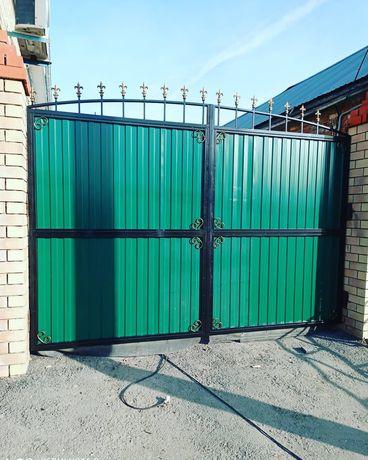 Ворота под ключ быстро и качественно