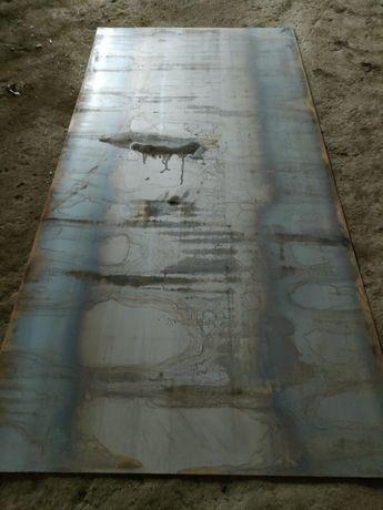 Железо листовое 3ка 1,25 2,50метр