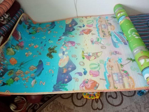 Детский коврик двусторонняя