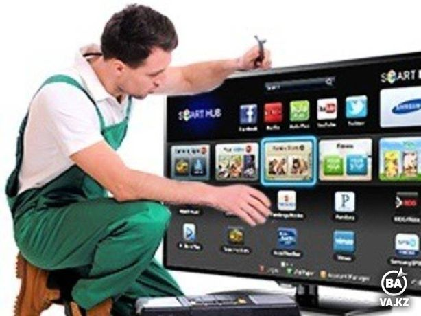 Ремонт всех видов Телевизоров в Алматы