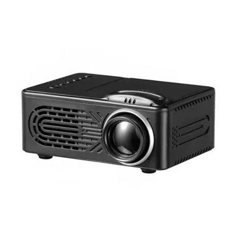 HD проектор черного цвета