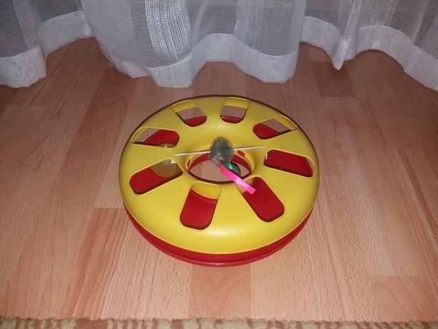 Jucarie pentru pisici , kitty roundabout, 24 cm