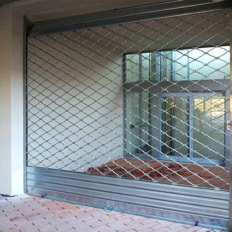 Охранителни ролетки, гаражни врати, секционни врати