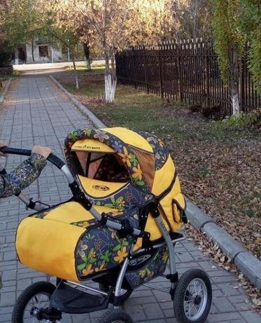 Продам коляску зима-лето, от 0 до 3 лет в отличном состоянии