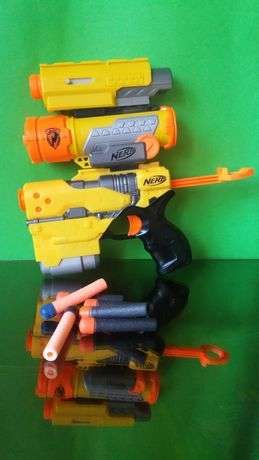 Nerf N-Strike Element EX-6 с мерник и лазер