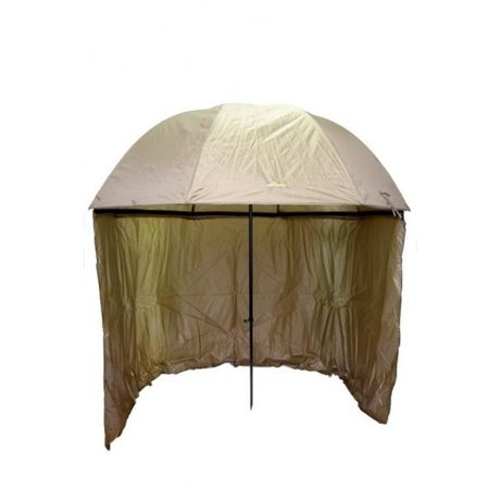 Рибарски чадър с тента Carp Focus 2.50мт + подарък стойка за чадър