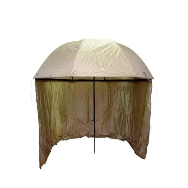 Рибарски чадър с тента Carp Focus 2.50мт + подарък стойка за чадър гр. София - image 1