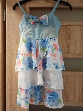 Детска рокля с презрамки