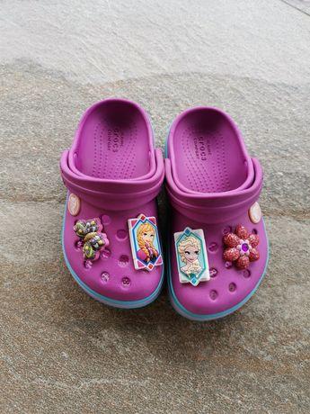 Slapi Crocs Elsa&Ana mar C8
