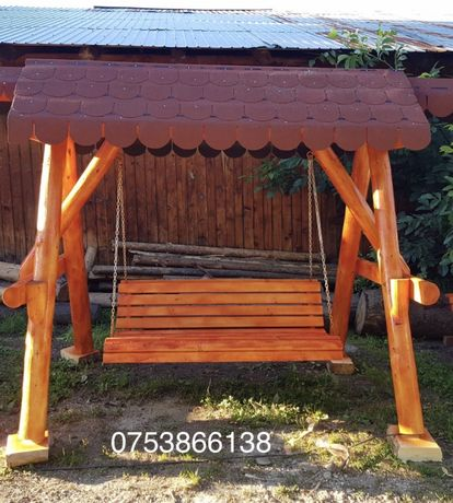 Balansoar din lemn / leagan din lemn masiv