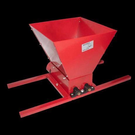 Zdrobitor Struguri Manual, 300Kg/Ora, Cuva 30kg