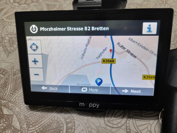 GPS mappy cu suport husa