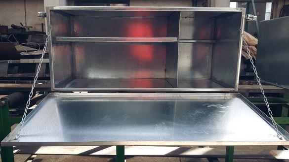 Изработка на метални сандъци за камиони , бусве
