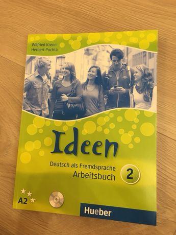 Чисто нова учебна тетрадка по немски A2 Ideen