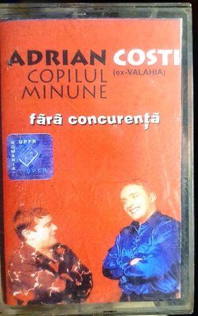 3 casete audio Costi, Vali Vijelie, Liviu Guta, Adrian Copilul Minune