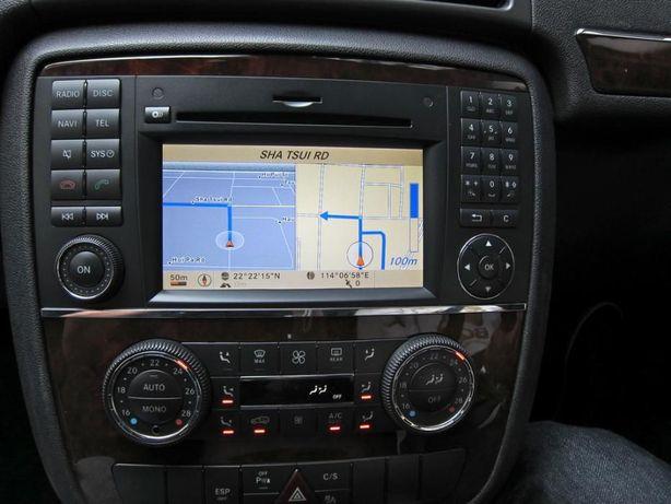 Harti navigatie Mercedes NTG2.5 A B CLS E G GL M R Class Europa 2019