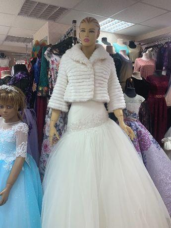 Шубки на вечерние и свадебные платья
