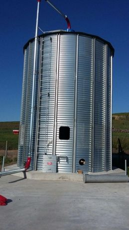 Siloz cereale 280 mc NOU, montaj inclus
