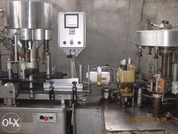 Бутилиращи, ротационни машини за вино и високо алкохолни напитки