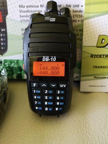 Statie radio Polmar db-10 10w taxi radioamator cfr pmr airsoft