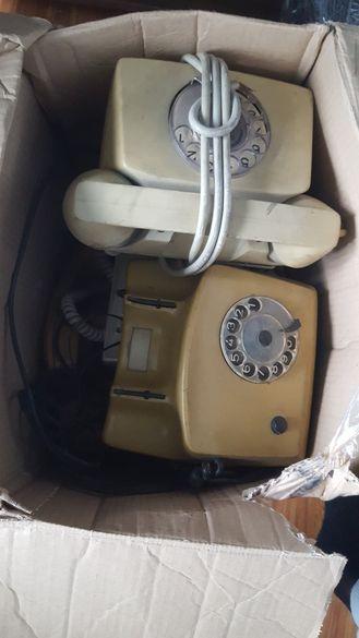 Лот стационарни телефони. и Гсм тел за части
