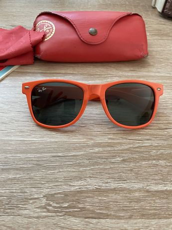 Ochelari Ray Ban portocaliu