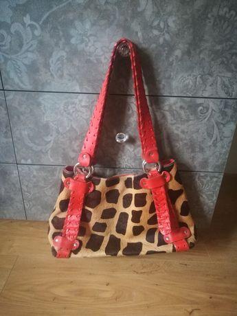 Голяма чанта естествена кожа