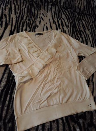 ZARA Бяла Блузка