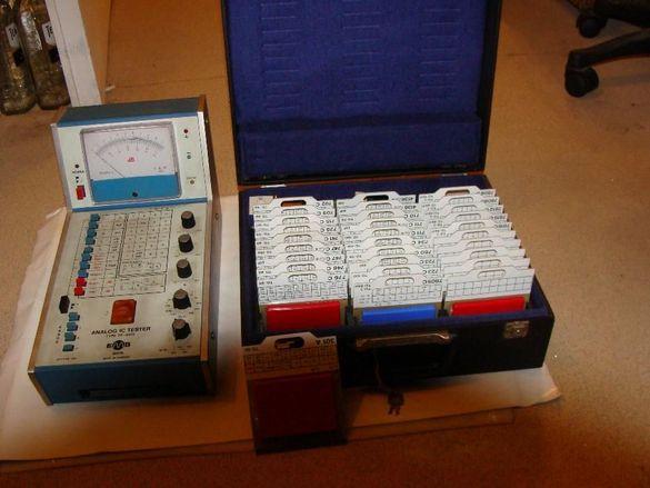 Измерител на параметрите на аналогови интегрални схеми TR9573