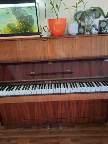 Продам пианино Беларусь, цвет светло-коричневый.
