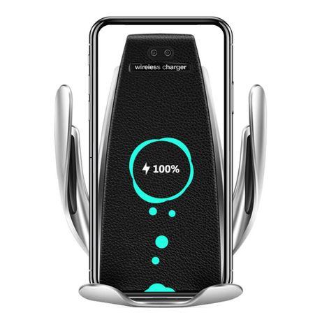 Suport telefon cu incarcator wireless 2in1