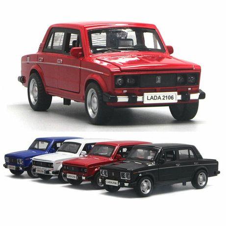 Машинки Лада 2106. Машины металлические Ваз Lada Vaz Жигули.