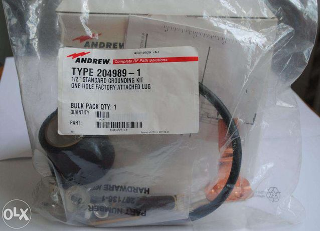 """Andrew Kit standard de impamantare pentru cablele RF coaxiale de ½"""""""