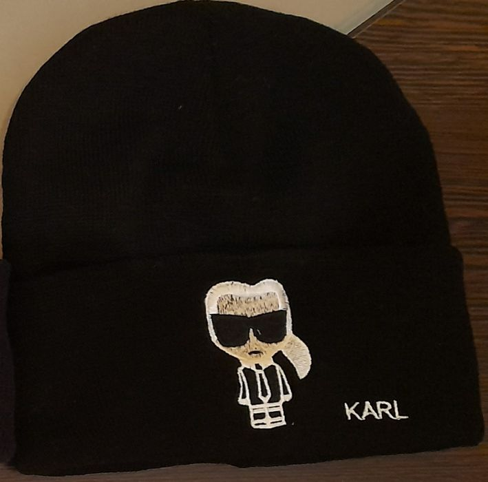 Căciula Karl Lagerfeld ocazie Bucuresti - imagine 1
