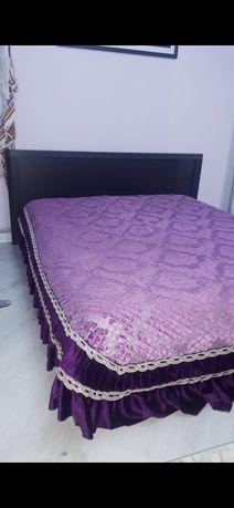 Кровать с матрасом  -30000 и шкаф с камод  -50000