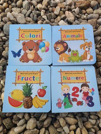 Set 4 carti educative cartonate copii 35 ron