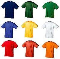 Однотонные футболки оптом! Нанесение логотипов! Вышивки!