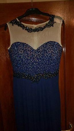 Rochie de gala superba pe bleumarin