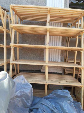 Продаю витрины полки деревянные