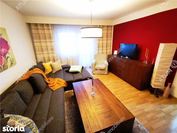 Apartament modern cu 3 camere, 2 bai si balcon zona Terezian