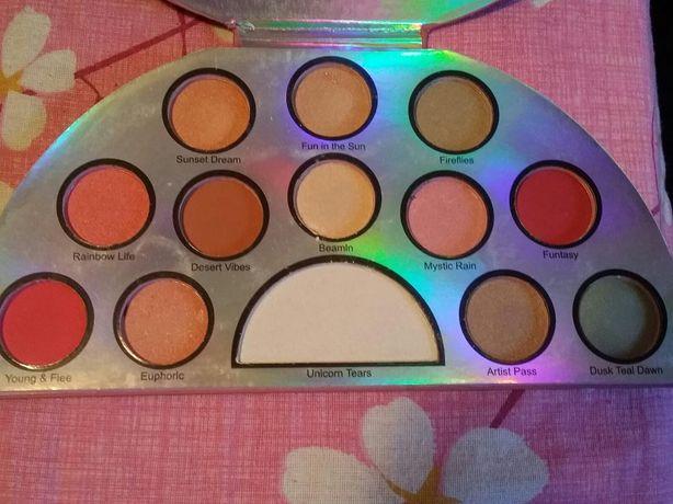Palete profesionale pigment