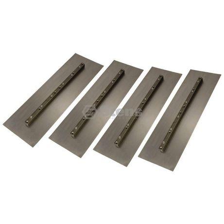 Лопатки за пердашка за бетон 60 / 90 / 110 см комплект - 4 броя
