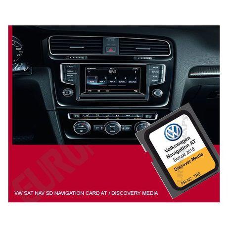 Card Harta Navigatie Volkswagen Golf 7 Passat B8 Octavia 3 Europa 2020