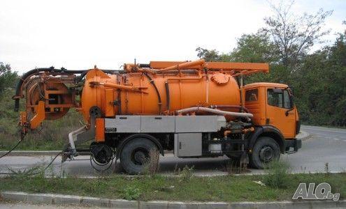 Почистване на септични ями и отпушване на канали