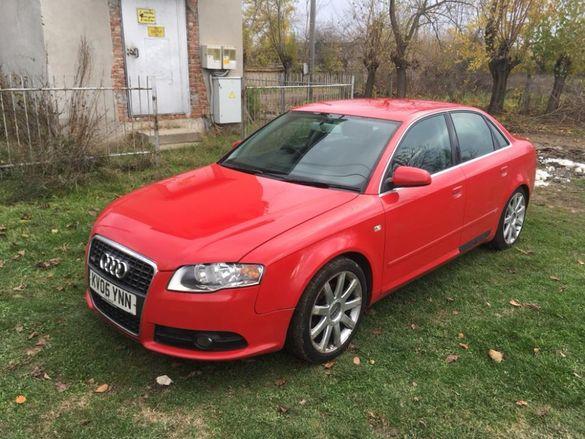 Audi a4 b7 s-line 2.0TDi Ауди а4 б7 2.0тди 140кс с-лине на части