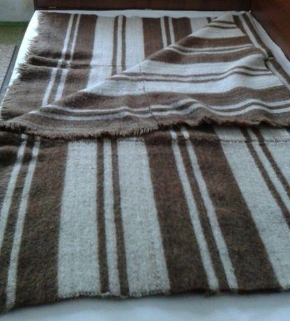 Домашно тъкано одеяло, одеало от чиста вълна, неупотребявано
