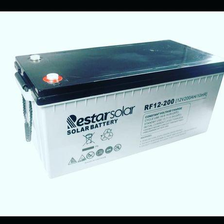 Аккумулятор для солнечных электо станции. Солнечный батареи АКБ 200ач