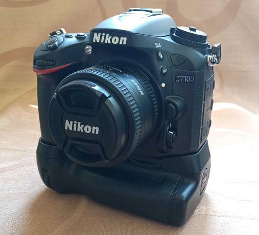 KIT Nikon D7100 (6050 Cadre) + Obiective + SB700 + Accesorii